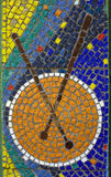 Mosaic background. Colourful Mosaic Background Made Of Many Little Stones Royalty Free Stock Photography