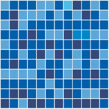 Mosaic background. In blue color Royalty Free Stock Image