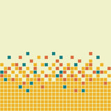 Mosaic Background. Vector illustration of seamless mosaic Vector Illustration