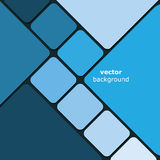 Mosaic Background. Blue Abstract Mosaics Background Template Design in Freely Scalable & Editable Vector Format Royalty Free Stock Image