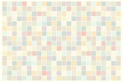 Mosaic background of colored squares. Vintage pop art retro illustration. Dull the surface Royalty Free Stock Photo
