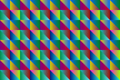 Mosaic a background of colored triangles.Vector. Art Royalty Free Stock Photography