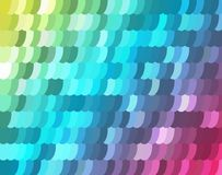 Mosaic background from ellipses. Vector background from a banner or for the realization of your other design ideas Royalty Free Stock Images