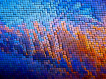 Mosaic  background. EPS 8 Stock Image