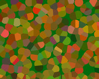 Mosaic background (large spot pattern) Royalty Free Stock Photography