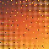 Mosaic background orange Stock Images