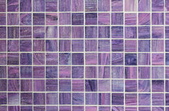 Mosaic of background violet colour Stock Photos