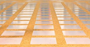 Mosaic background Walk way Royalty Free Stock Photos
