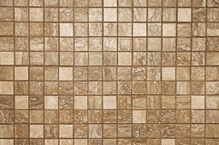 Mosaic background. Mosaic wall background close up Royalty Free Stock Images