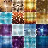 Mosaic  backgrounds. Royalty Free Stock Images