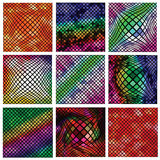 Mosaic  backgrounds Royalty Free Stock Photos