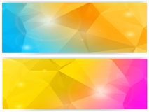 Mosaic banners2 Stock Image