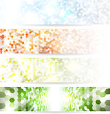 Mosaic banners Royalty Free Stock Image