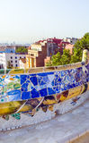Mosaic Barcelona Gaudi Stock Photography