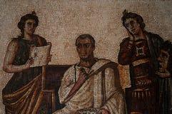 Mosaic, Bardo Museum, Tunis, Tunisia. Bardo Museum, Tunis, Tunisia Stock Photos
