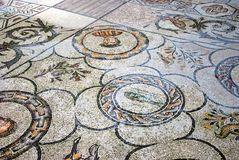 Mosaic in basilica. Stock Photos