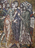 Mosaic in the Basilica of Saint Mark, Venice, Italy Royalty Free Stock Images