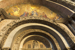 Mosaic of the Basilica St Marks Royalty Free Stock Photography