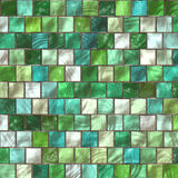 Mosaic in the bathroom Royalty Free Stock Image