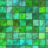 Mosaic in the bathroom Stock Images