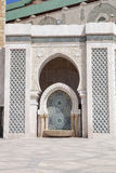 Mosaic beautiful mosque Hassan second in Casablanca, Morocco Royalty Free Stock Photo