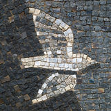 Mosaic bird Royalty Free Stock Image
