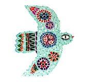 Mosaic bird Royalty Free Stock Photo
