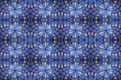 Mosaic blue tile Royalty Free Stock Photos