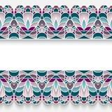 Mosaic border background Royalty Free Stock Image