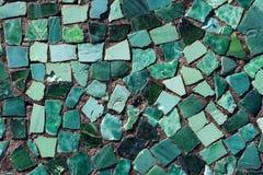 Mosaic on the bottom of pool Stock Photos