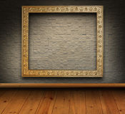 Mosaic brick grunge interior Royalty Free Stock Photography