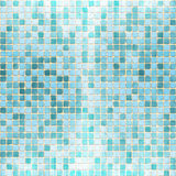 Mosaic Brick Tile Texture. Digital illustration Royalty Free Stock Photography