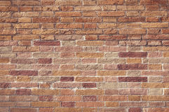 Mosaic brick wall background Royalty Free Stock Images