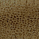 Mosaic brown abstraction Stock Image