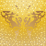 Mosaic butterfly Royalty Free Stock Photography