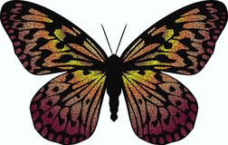 Mosaic Butterfly Stock Images
