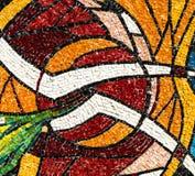 Mosaic of the Canonica al Lambro church Stock Photo