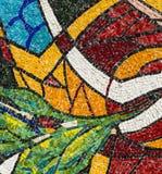 Mosaic of the Canonica al Lambro church Stock Photos