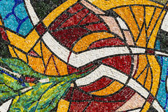 Mosaic of the Canonica al Lambro church Royalty Free Stock Photography