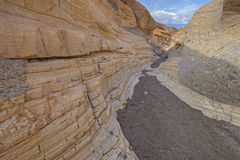 Mosaic Canyon, Death Valley. Marble walls of Mosaic Canyon, Death Valley National Park, California, USA Stock Photos