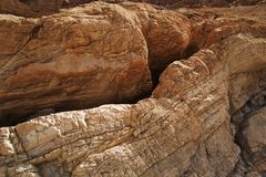 Mosaic canyon, Death Valley Royalty Free Stock Images