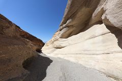 Mosaic Canyon in Death Valley National Park. California Royalty Free Stock Photos