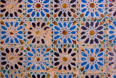 Mosaic at the Cartuja monastery,  Seville, Spain Royalty Free Stock Photography