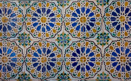 Mosaic at the Cartuja monastery,  Seville, Spain Royalty Free Stock Image