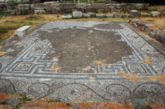 Mosaic at the Castle in Kos Town Royalty Free Stock Photography