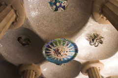 Mosaic ceiling Stock Photography
