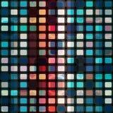 Mosaic cells seamless Stock Image