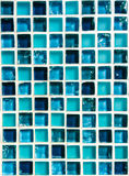 Mosaic from ceramic and glass Royalty Free Stock Photo