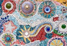 Mosaic ceramic tile Stock Photos