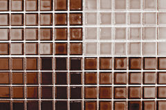 Mosaic ceramic tiles Stock Photo